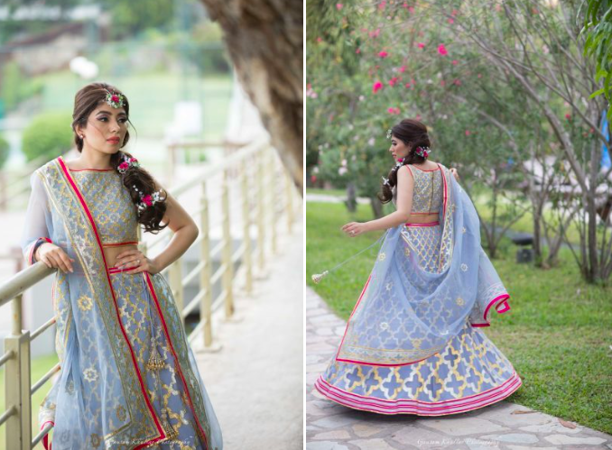 Fairytale Anand Karaj With Off Beat Bridal Outfits And