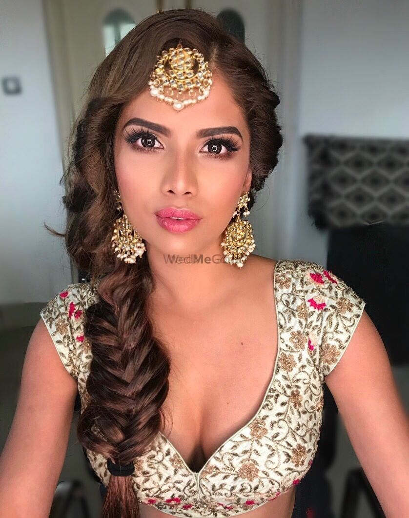 35+ bridal braids on indian brides that we are loving
