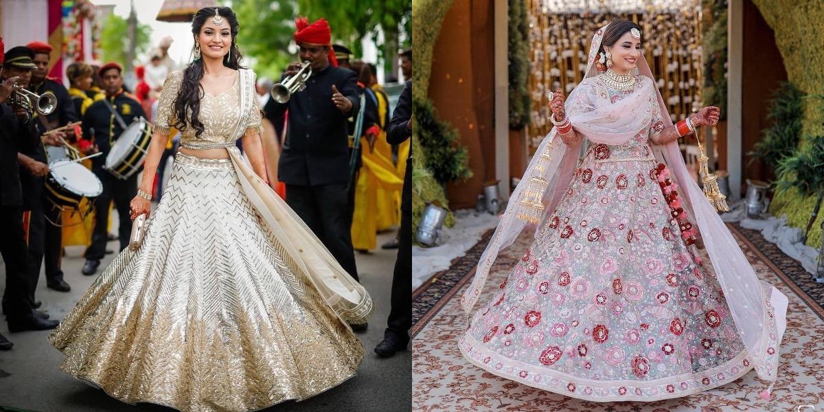 Bridal Lehengas In Chandni Chowk Shops Prices Pics Wedmegood