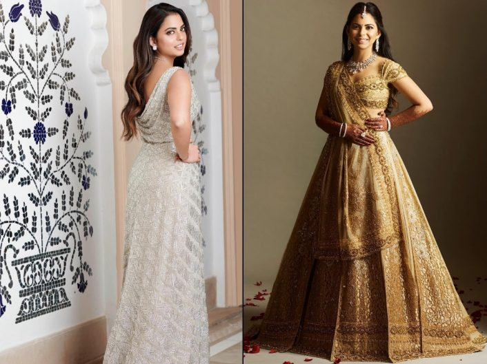 b23bd744cd7 Here s What (  Who) Isha Ambani Wore At Each Of Her Wedding Functions!