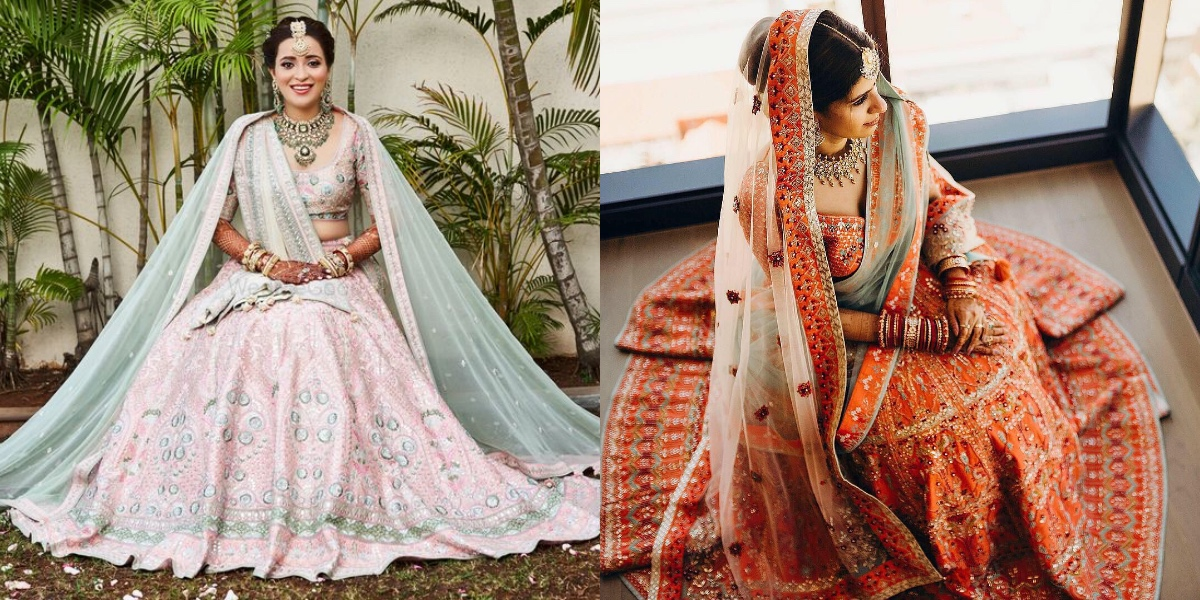 Unique Bridal Lehenga Colour Combinations Which Will Be Big In 2019 Wedmegood