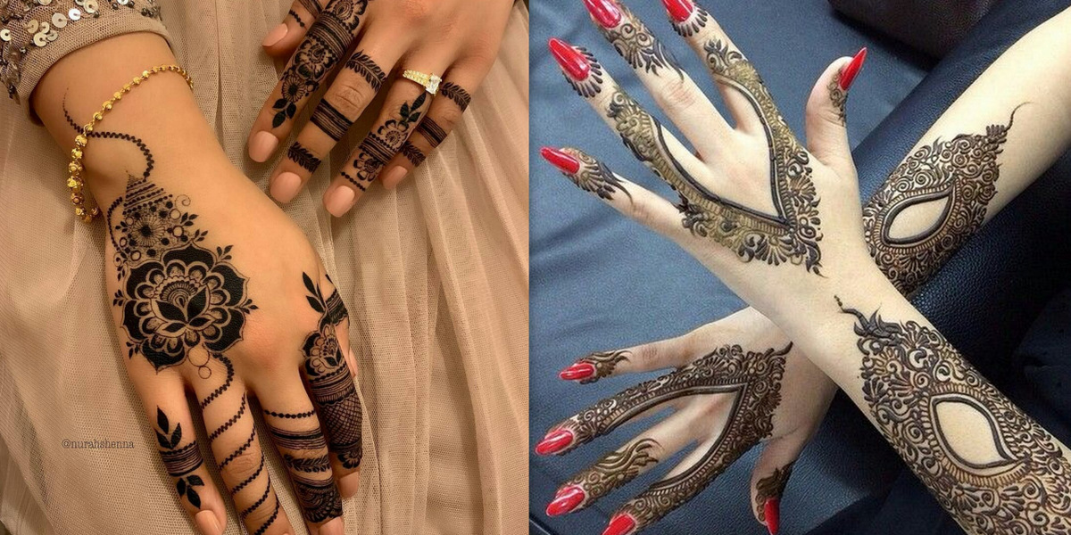 bridal arabic new mehndi designs