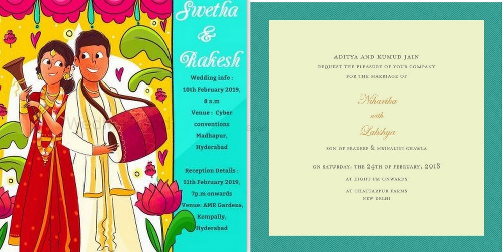 How To Create A Whatsapp Wedding Invitation A Know It All Guide Wedmegood