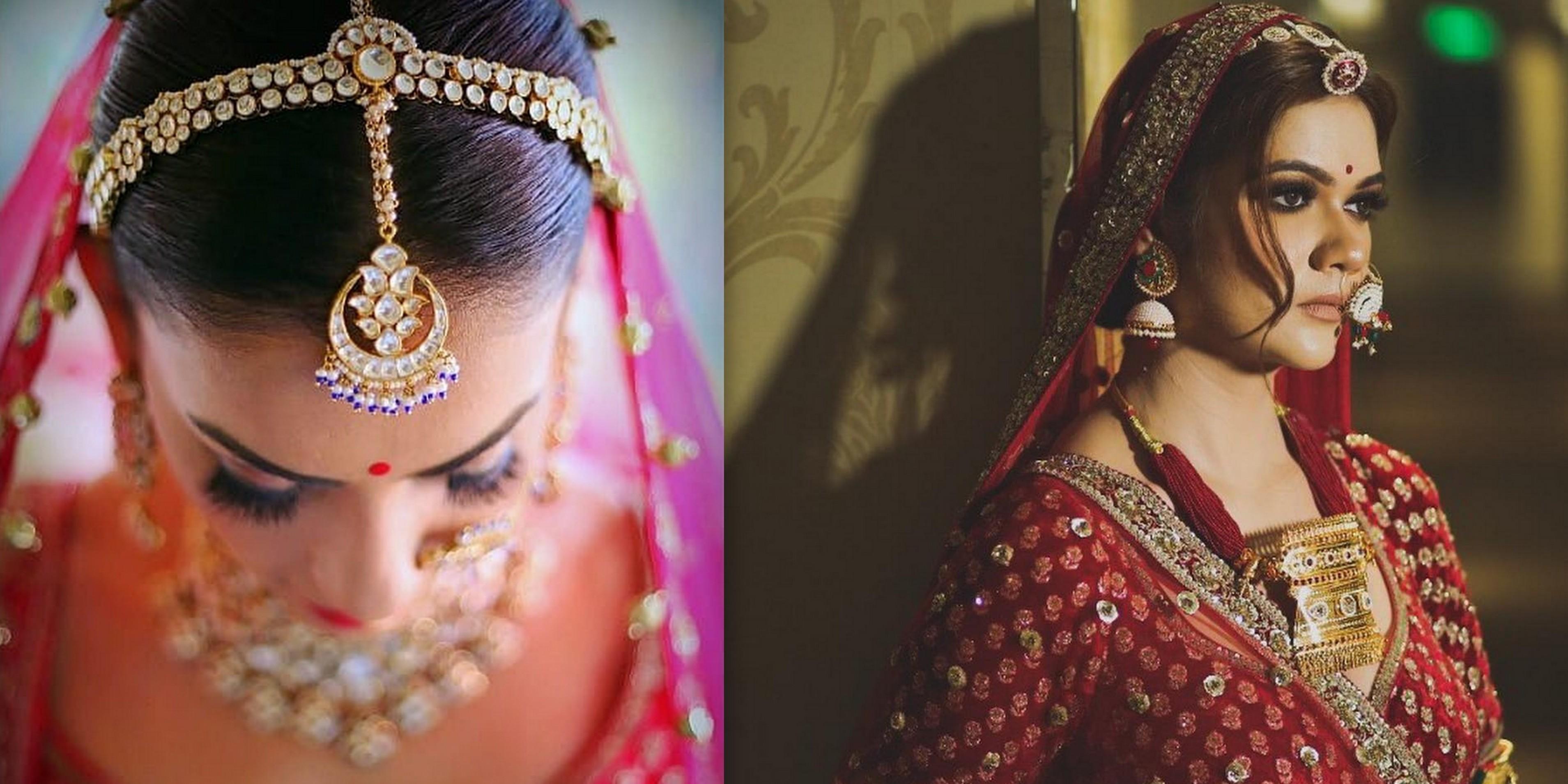 Set bridal matha patti Top 20