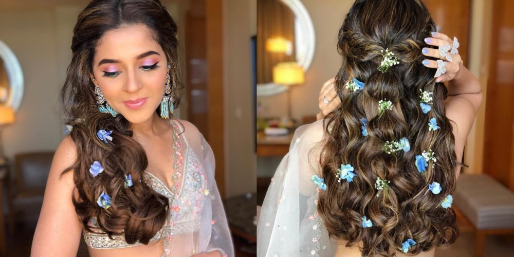 Why Flowers In Open Hair Are The Best Way To Add A Touch Of