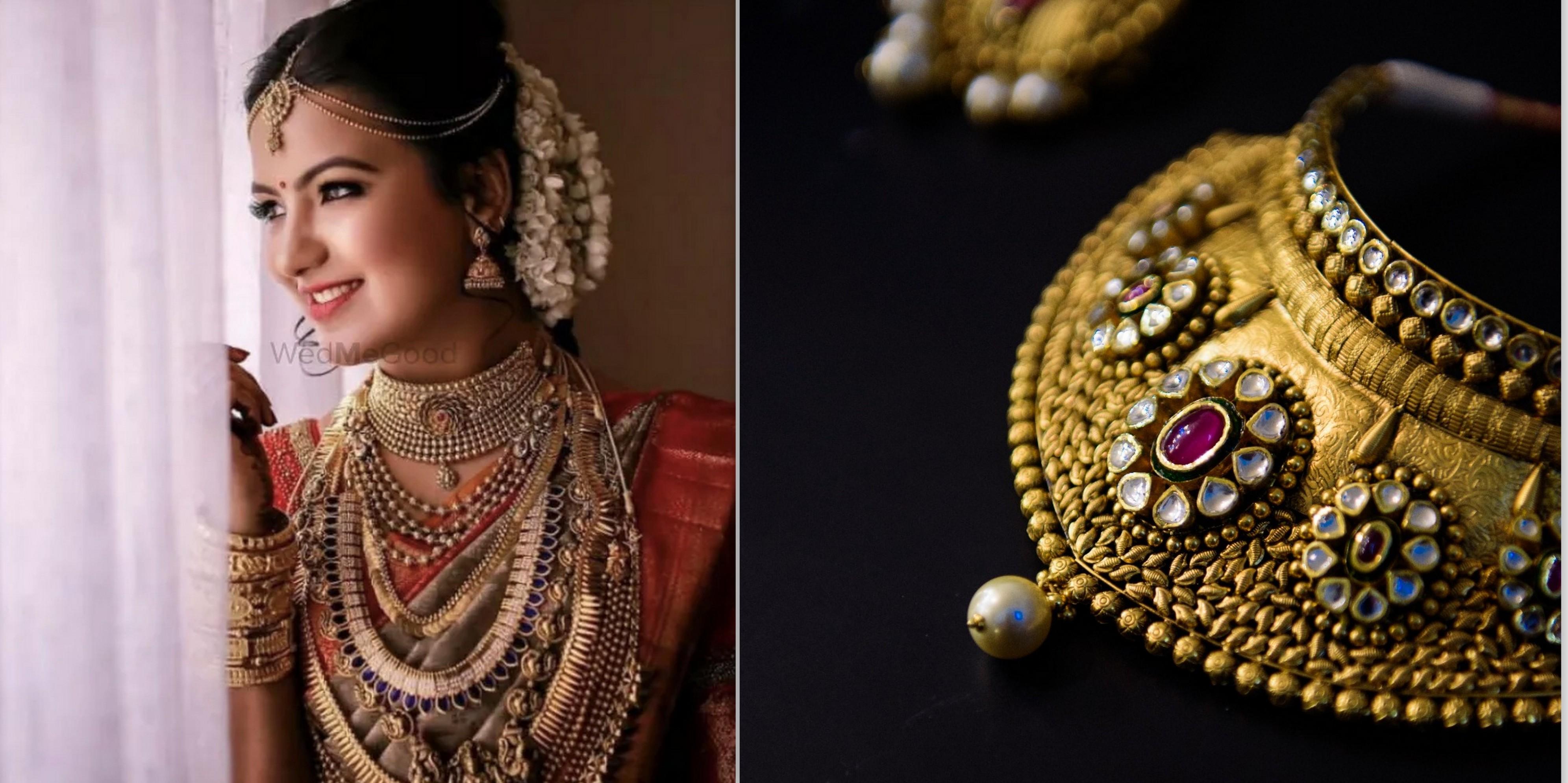 Best Gold Bridal Jewellery Designs For Weddings Wedmegood