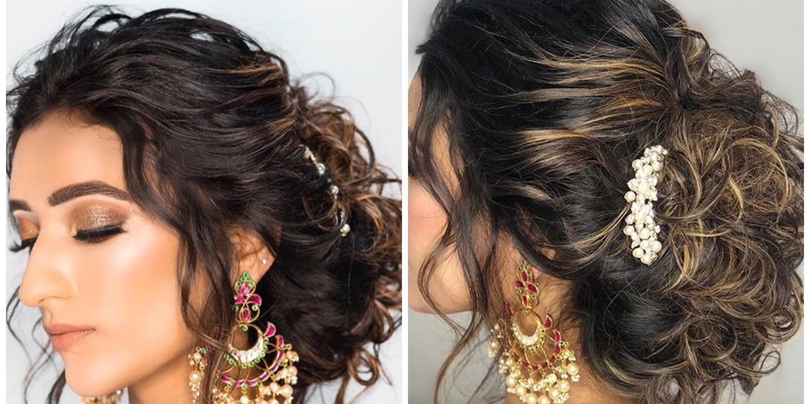 Wedding Reception Hairstyles Trending In Indian Weddings Wedmegood