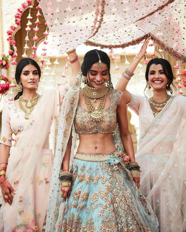 8 Times Brides Entered With Their Sisters And Why You